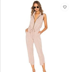 YFB dusty pink jumpsuit